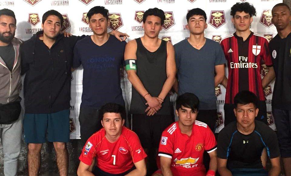 """La selección mayor de fútbol masculino, a la final del torneo """"Lo doy todo"""" en La Cisterna"""