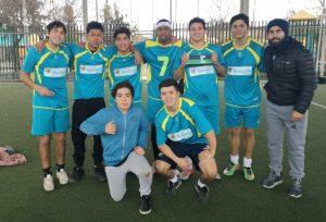 La selección mayor de fútbol masculino del Colegio Monte Olivo, es dirigida por el Profesor Marcelo Zaracho