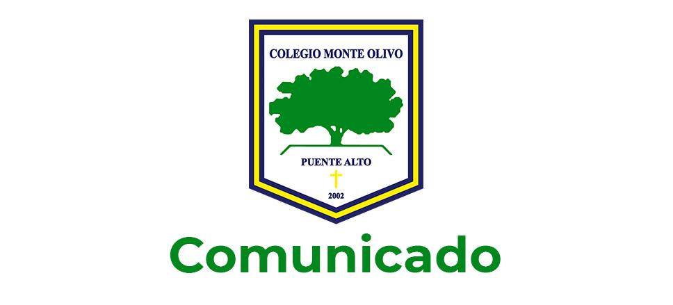 Comunicado Colegio Monte Olivo de Puente Alto